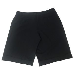 Escada Shorts - Escada High Waist Wool Shorts